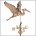 weathervane,weathervanes,blue heron weathervane