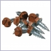 Copper Penny Aluminum Fasteners,Rivets,Screws,Nails