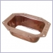 K Style Rectangular Outlet - Wide Flange
