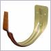 hangers,k style hangers,half round hangers,copper penny aluminum hangers,gutter hangers