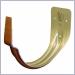 half round hangers,copper penny aluminum half round hangers,gutter hangers