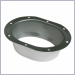 K Style Oval Outlet - Wide Flange
