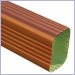 Copper Penny Aluminum Rectangular Downspouts,Downspouts