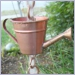 themed rain chains,watering can cups rain chain,rain chains,Copper Rain Chain