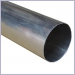 Mill Finish Aluminum Downspouts, plain round downspouts, corrugated rectangular downspouts