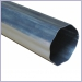 Mill Finish Round Corrugated Downspouts, Aluminum Downspouts