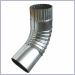 Mill Finish Aluminum Elbows, Elbows, plain round elbows, rectangular elbows