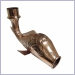 Fish Downspout,copper fish downspout,aluminum fish downspout