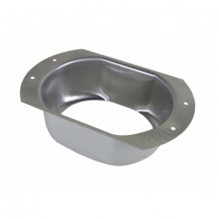 K Style Oval Outlet - Wide Flange