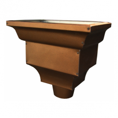 Standard Leader Head - Designer Copper Aluminum
