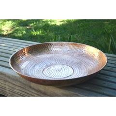 Hand Hammered Copper Dish