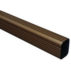 Designer Copper Aluminum Rectangular Downspouts