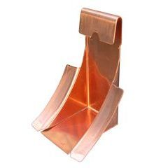 Half Round Copper Gutter Wedges (Bulk)