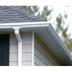 Traditional Vinyl Gutter Products