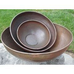 Hand Hammered Copper Bowls