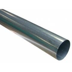 Galvanized Steel Plain Round Downspouts