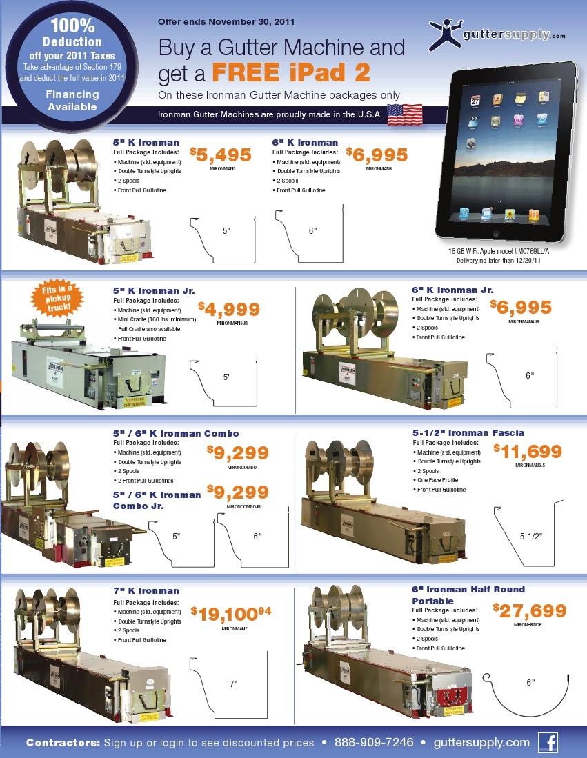 Gutter Machines Brochure