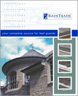 Gutter Leaf Guard Brochure
