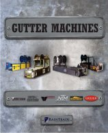 Click Here For The Gutter Machines Brochure