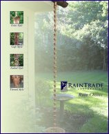 Click Here To View The Rain Chain Brochure
