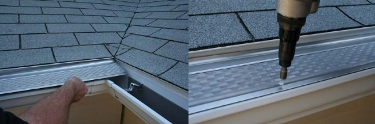 Clean Mesh Gutter Guard