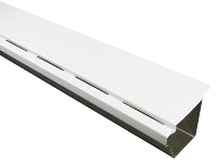 Solid PVC Snap-In Gutter Cover