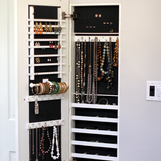 Cabinet into Jewelry Holder