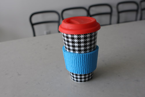 Yoga Coffee Cozy
