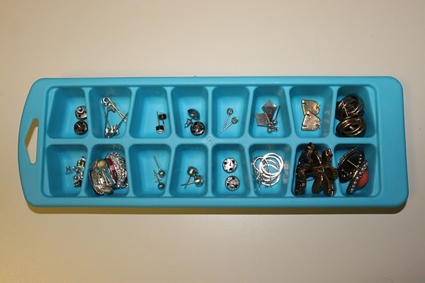 Ice Cube Tray Storage