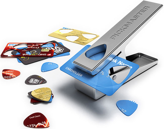 Credit Card Guitar Picks