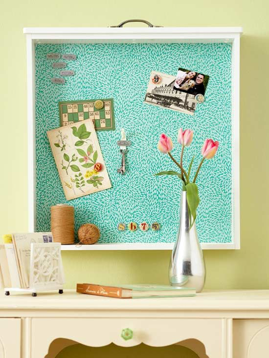 Drawer into Bulletin Board