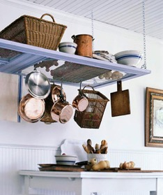 Screen Door Pot Rack